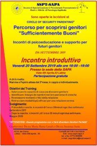 OpenDay COSP SAPA 20 Settembre